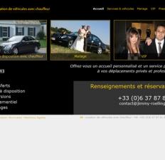 Site JR - Location de véhicules avec chauffeur